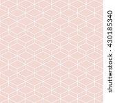 cubes seamless pattern... | Shutterstock .eps vector #430185340