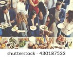 food catering cuisine culinary... | Shutterstock . vector #430187533