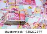 indonesia rupiah currency money ... | Shutterstock . vector #430212979
