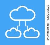 cloud data exchange | Shutterstock .eps vector #430226623