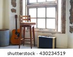 chair in room abstract | Shutterstock . vector #430234519