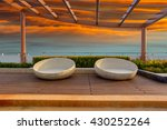relax corner on condominium... | Shutterstock . vector #430252264
