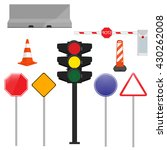 vector icon set  collection... | Shutterstock .eps vector #430262008