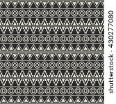 seamless aztec pattern   Shutterstock .eps vector #430277080