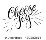 modern calligraphy... | Shutterstock .eps vector #430283896