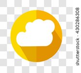 cloud icon. weather forecast....