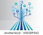 digital health and hospital...   Shutterstock .eps vector #430289563