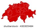 map   swizerland   Shutterstock .eps vector #430305484