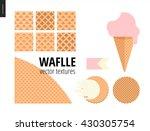 vector illustration of six... | Shutterstock .eps vector #430305754