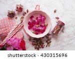 rose petal jam  | Shutterstock . vector #430315696
