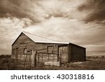 Rustic Old Wooden Shearing She...