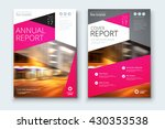 brochure layout design.... | Shutterstock .eps vector #430353538