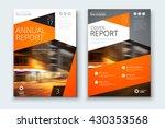 catalog cover design. corporate ... | Shutterstock .eps vector #430353568