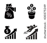 business vector icons | Shutterstock .eps vector #430375249