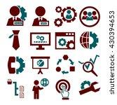 system  user  administrator... | Shutterstock .eps vector #430394653