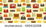 different color travel bags... | Shutterstock .eps vector #430410208