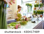 people  business  sale and... | Shutterstock . vector #430417489