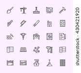 building icons | Shutterstock .eps vector #430421920