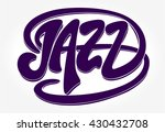 jazz festival music vector... | Shutterstock .eps vector #430432708