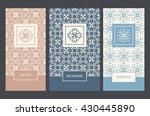 vector set of design elements ... | Shutterstock .eps vector #430445890