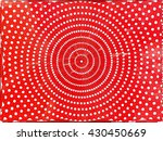red hexagon circle abstract... | Shutterstock .eps vector #430450669