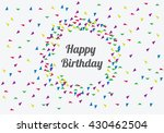 anniversary banner sets. party... | Shutterstock .eps vector #430462504
