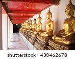 buddha statue at wat arun ... | Shutterstock . vector #430462678