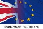 british and european union... | Shutterstock . vector #430481578