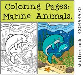 Coloring Pages  Marine Animals...