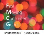 Small photo of FMCG (Fast Moving Consumer Goods) acronym. business concept