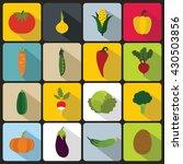 vegetables set | Shutterstock .eps vector #430503856