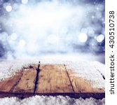 winter background of shabby... | Shutterstock . vector #430510738
