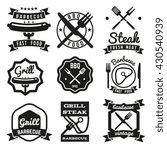 fast food vintage vector...   Shutterstock .eps vector #430540939
