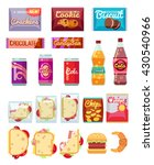vending machine products...   Shutterstock .eps vector #430540966
