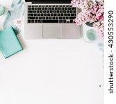Laptop  Lilac Flowers Bouquet ...