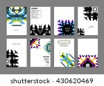 abstract background. geometric... | Shutterstock .eps vector #430620469