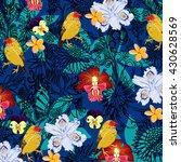 flower pattern | Shutterstock .eps vector #430628569