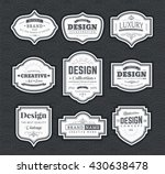 frame classic template. vintage ... | Shutterstock .eps vector #430638478
