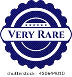 very rare with jean texture | Shutterstock .eps vector #430644010