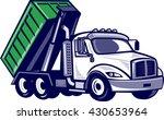 illustration of a roll off... | Shutterstock . vector #430653964