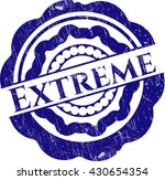 extreme rubber stamp with...