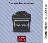 popcorn icon or symbol | Shutterstock .eps vector #430655518