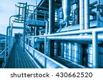 equipment  cables and piping as ... | Shutterstock . vector #430662520