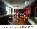 restaurant interior  part of... | Shutterstock . vector #430665520