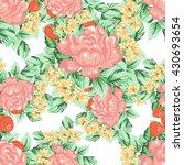 abstract elegance seamless...   Shutterstock . vector #430693654