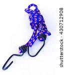 Blue And Pink Elastic String O...