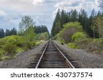 rail road  | Shutterstock . vector #430737574