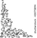 Baroque Frozen Pattern Vignett...