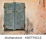 old italian house  detail with... | Shutterstock . vector #430774213