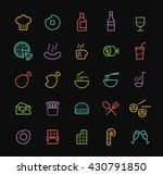 set of elegant universal... | Shutterstock .eps vector #430791850